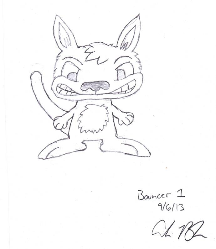 Bouncer Original Rough Draft