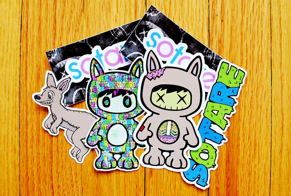 Sotare Stickers 16 Display