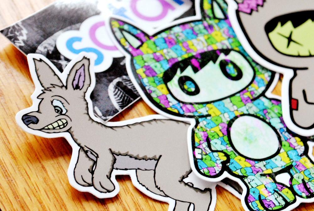 Stoare Stickers 16 CU