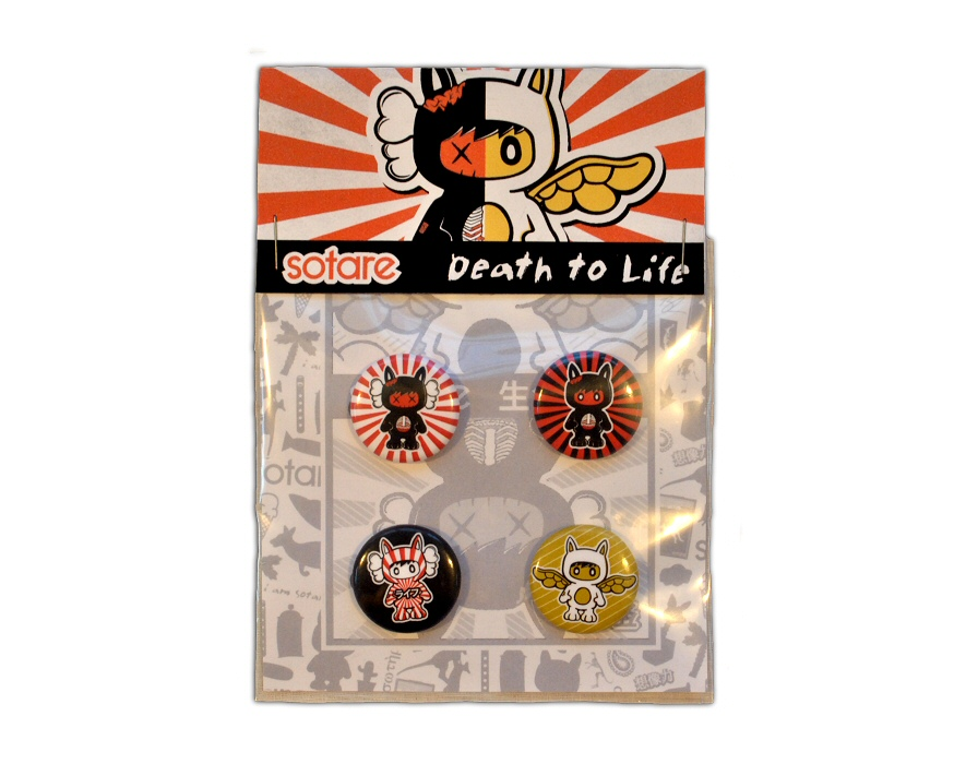 Sotare Death to Life Button Pack